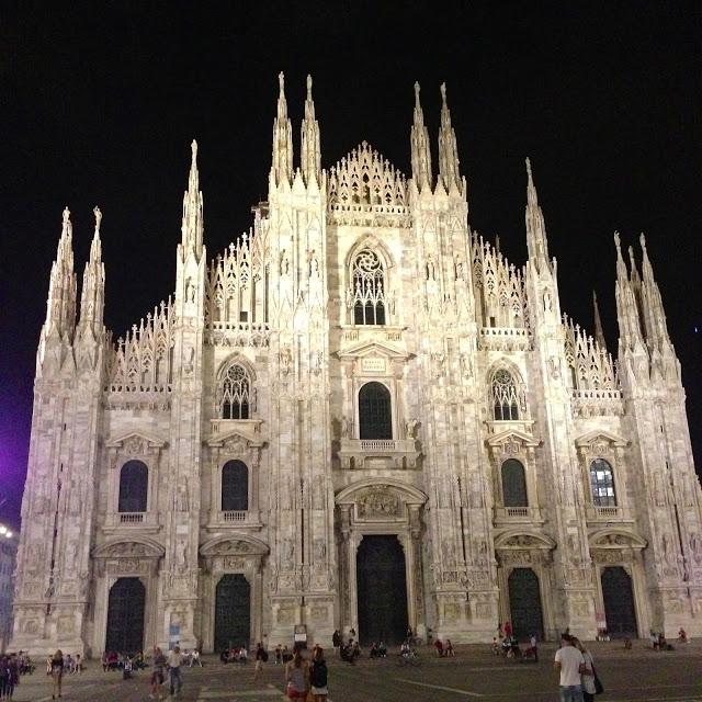 Takaisin Milanossa ja Eilinen Vuoren Valloitus :)